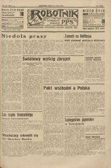 Robotnik : centralny organ P.P.S. R.39 [i.e.40], nr 265 (25 lipca 1934) = nr 5885