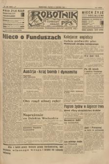 Robotnik : centralny organ P.P.S. R. 39 [i.e.40], nr 285 (10 sierpnia 1934) = nr 5905