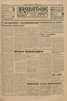 Robotnik : centralny organ P.P.S. R. 39 [i.e.40], nr 290 (14 sierpnia 1934) = nr 5910
