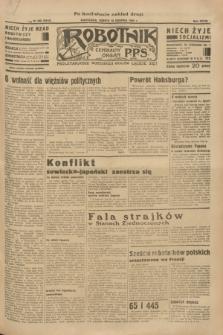 Robotnik : centralny organ P.P.S. R. 39 [i.e.40], nr 296 (18 sierpnia 1934) = nr 5915 (po konfiskacie nakład drugi)