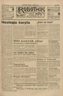 Robotnik : centralny organ P.P.S. R. 39 [i.e.40], nr 299 (21 sierpnia 1934) = nr 5918