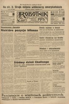 Robotnik : centralny organ P.P.S. R.39 [i.e.40], nr 318 (4 września 1934) = nr 5937 (po konfiskacie nakład drugi)
