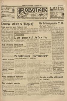 Robotnik : centralny organ P.P.S. R.39 [i.e.40], nr 326 (10 września 1934) = nr 5945