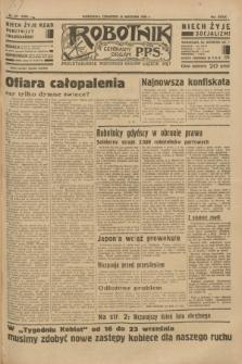 Robotnik : centralny organ P.P.S. R.39 [i.e.40], nr 331 (13 września 1934) = nr 5950