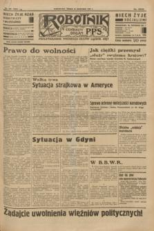 Robotnik : centralny organ P.P.S. R.39 [i.e.40], nr 339 (19 września 1934) = nr 5958
