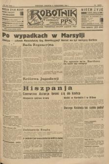 Robotnik : centralny organ P.P.S. R.39 [i.e.40], nr 365 (11 października 1934) = nr 5984