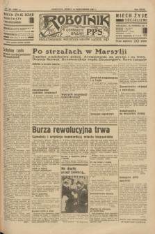 Robotnik : centralny organ P.P.S. R.39 [i.e.40], nr 367 (13 października 1934) = nr 5986