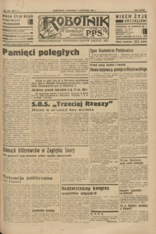 Robotnik : centralny organ P.P.S. R.39 [i.e.40], nr 393 (1 listopada 1934) = nr 6011