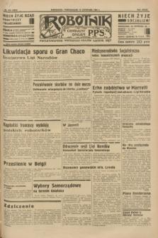 Robotnik : centralny organ P.P.S. R.39 [i.e.40], nr 415 (19 listopada 1934) = nr 6033