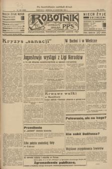 Robotnik : centralny organ P.P.S. R.39 [i.e.40], nr 425 (25 listopada 1934) = nr 6043 (po konfiskacie nakład drugi)