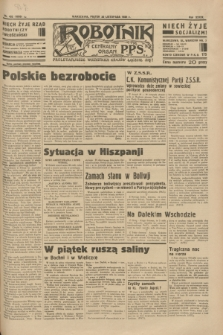 Robotnik : centralny organ P.P.S. R.39 [i.e.40], nr 432 (30 listopada 1934) = nr 6050