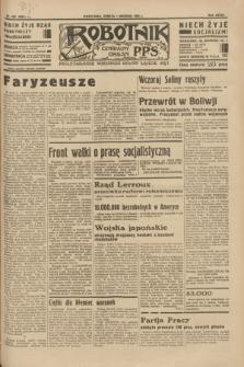 Robotnik : centralny organ P.P.S. R.39 [i.e.40], nr 433 (1 grudnia 1934) = nr 6051
