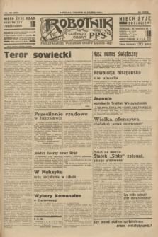 Robotnik : centralny organ P.P.S. R.39 [i.e.40], nr 452 (20 grudnia 1934) = nr 6070