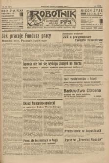 Robotnik : centralny organ P.P.S. R.39 [i.e.40], nr 453 (21 grudnia 1934) = nr 6071