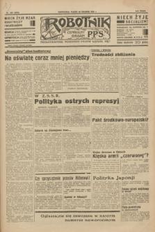 Robotnik : centralny organ P.P.S. R.39 [i.e.40], nr 458 (28 grudnia 1934) = nr 6076
