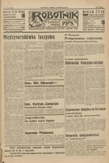Robotnik : centralny organ P.P.S. R.39 [i.e.40], nr 459 (29 grudnia 1934) = nr 6077