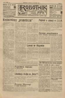 Robotnik : centralny organ P.P.S. R.40 [i.e.41], nr 6 (6 stycznia 1935) = nr 6085