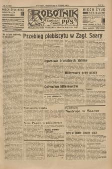 Robotnik : centralny organ P.P.S. R.40 [i.e.41], nr 15 (14 stycznia 1935) = nr 6094