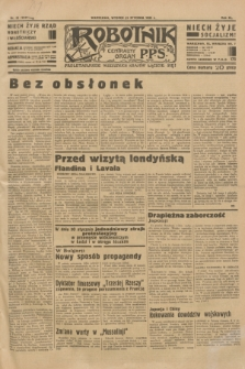 Robotnik : centralny organ P.P.S. R.40 [i.e.41], nr 32 (29 stycznia 1935) = nr 6107