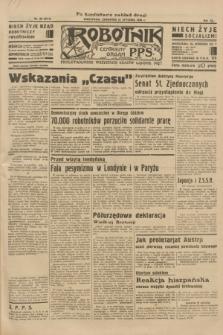 Robotnik : centralny organ P.P.S. R.40 [i.e.41], nr 36 (31 stycznia 1935) = nr 6111