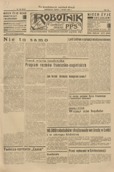 Robotnik : centralny organ P.P.S. R.40 [i.e.41], nr 38 (1 lutego 1935) = nr 6113