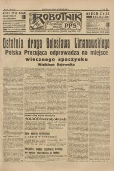 Robotnik : centralny organ P.P.S. R.40 [i.e.41], nr 42 (6 lutego 1935) = nr 6117