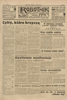 Robotnik : centralny organ P.P.S. R.40 [i.e.41], nr 54 (16 lutego 1935) = nr 6129