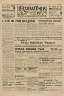 Robotnik : centralny organ P.P.S. R.40 [i.e.41], nr 55 (17 lutego 1935) = nr 6130