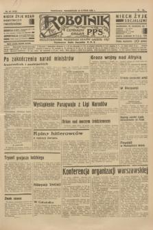Robotnik : centralny organ P.P.S. R.40 [i.e.41], nr 64 (25 lutego 1935) = nr 6139