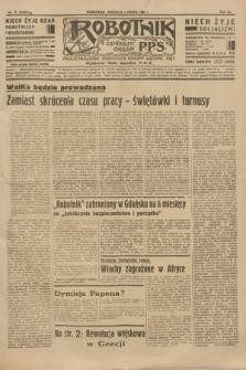 Robotnik : centralny organ P.P.S. R.40 [i.e.41], nr 71 (3 marca 1935) = nr 6146
