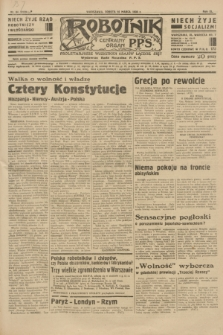 Robotnik : centralny organ P.P.S. R.40 [i.e.41], nr 84 (16 marca 1935) = nr 6159