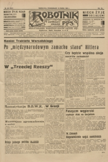Robotnik : centralny organ P.P.S. R.40 [i.e.41], nr 86 (18 marca 1935) = nr 6161