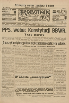 Robotnik : centralny organ P.P.S. R.40 [i.e.41], nr 96 (26 marca 1935) = nr 6171