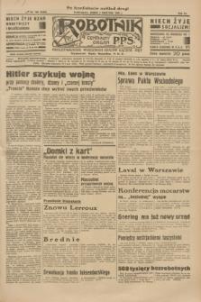 Robotnik : centralny organ P.P.S. R.40 [i.e.41], nr 105 (3 kwietnia 1935) = nr 6180 (po konfiskacie nakład drugi)