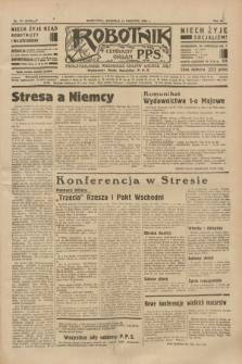 Robotnik : centralny organ P.P.S. R.40 [i.e.41], nr 117 (14 kwietnia 1935) = nr 6192