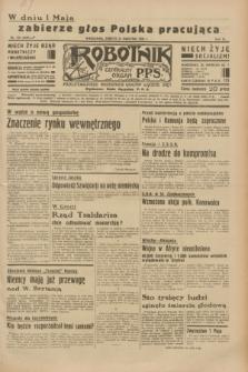 Robotnik : centralny organ P.P.S. R.40 [i.e.41], nr 129 (27 kwietnia 1935) = nr 6204