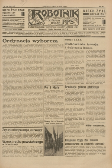Robotnik : centralny organ P.P.S. R.40 [i.e.41], nr 136 (3 maja 1935) = nr 6211