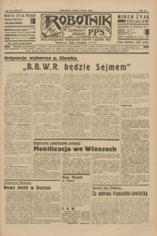 Robotnik : centralny organ P.P.S. R.40 [i.e.41], nr 141 (8 maja 1935) = nr 6216