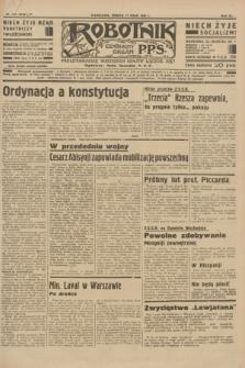 Robotnik : centralny organ P.P.S. R.40 [i.e.41], nr 144 (11 maja 1935) = nr 6219