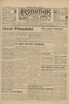 Robotnik : centralny organ P.P.S. R.40 [i.e.41], nr 147 (14 maja 1935) = nr 6222