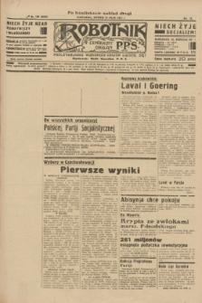 Robotnik : centralny organ P.P.S. R.40 [i.e.41], nr 155 (21 maja 1935) = nr 6230 (po konfiskacie nakład drugi)