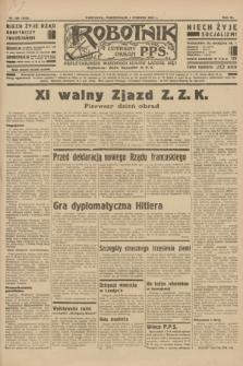 Robotnik : centralny organ P.P.S. R.40 [i.e.41], nr 169 (3 czerwca 1935) = nr 6243