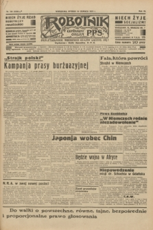 Robotnik : centralny organ P.P.S. R.40 [i.e.41], nr 184 (18 czerwca 1935) = nr 6258