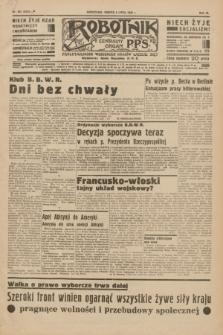 Robotnik : centralny organ P.P.S. R.40 [i.e.41], nr 202 (6 lipca 1935) = nr 6276