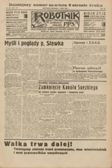 Robotnik : centralny organ P.P.S. R.40 [i.e.41], nr 203 (7 lipca 1935) = nr 6277