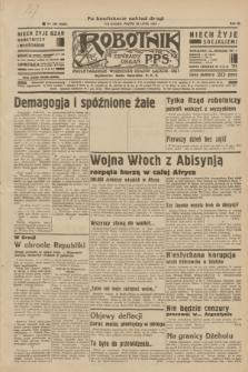 Robotnik : centralny organ P.P.S. R.40 [i.e.41], nr 226 (26 lipca 1935) = nr 6298 (po konfiskacie nakład drugi)