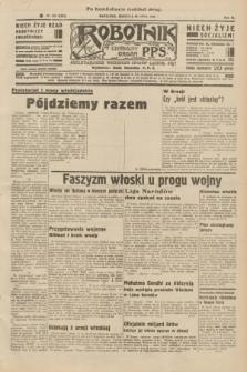 Robotnik : centralny organ P.P.S. R.40 [i.e.41], nr 229 (28 lipca 1935) = nr 6301 (po konfiskacie nakład drugi)