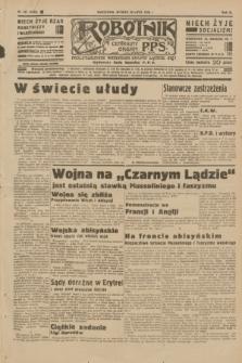 Robotnik : centralny organ P.P.S. R.40 [i.e.41], nr 231 (30 lipca 1935) = nr 6303
