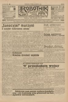 Robotnik : centralny organ P.P.S. R.40 [i.e.41], nr 256 (20 sierpnia 1935) = nr 6328