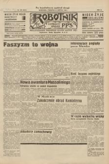 Robotnik : centralny organ P.P.S. R.40 [i.e.41], nr 259 (22 sierpnia 1935) = nr 6331 (po konfiskacie nakład drugi)